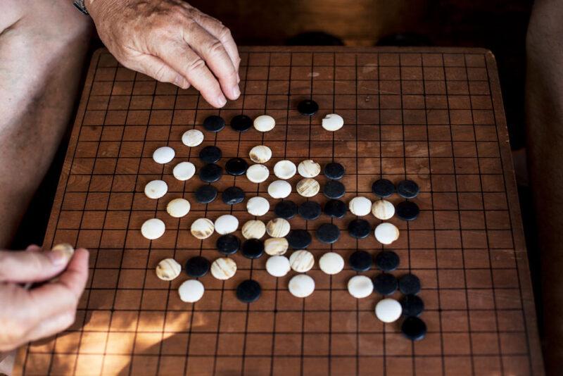 Das Brettspiel GO