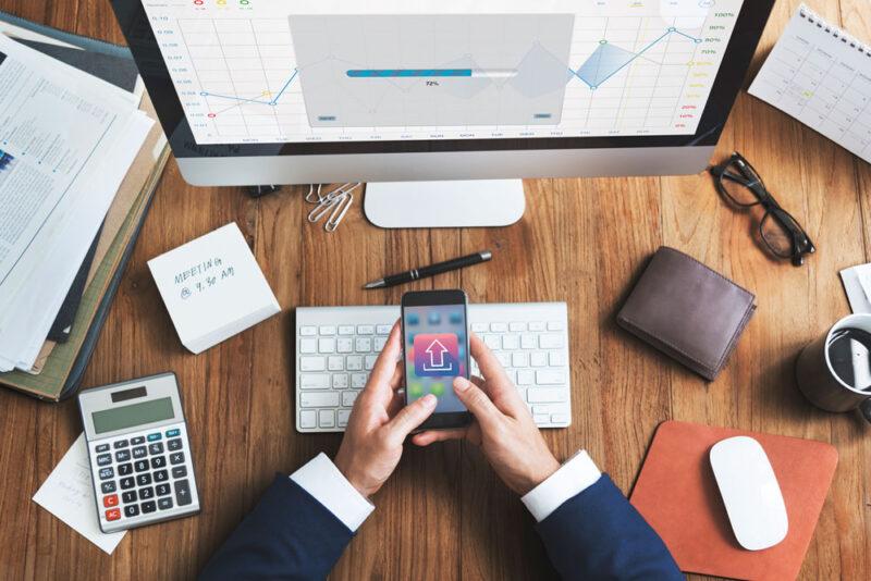 Backup mit dem Smartphone steuern